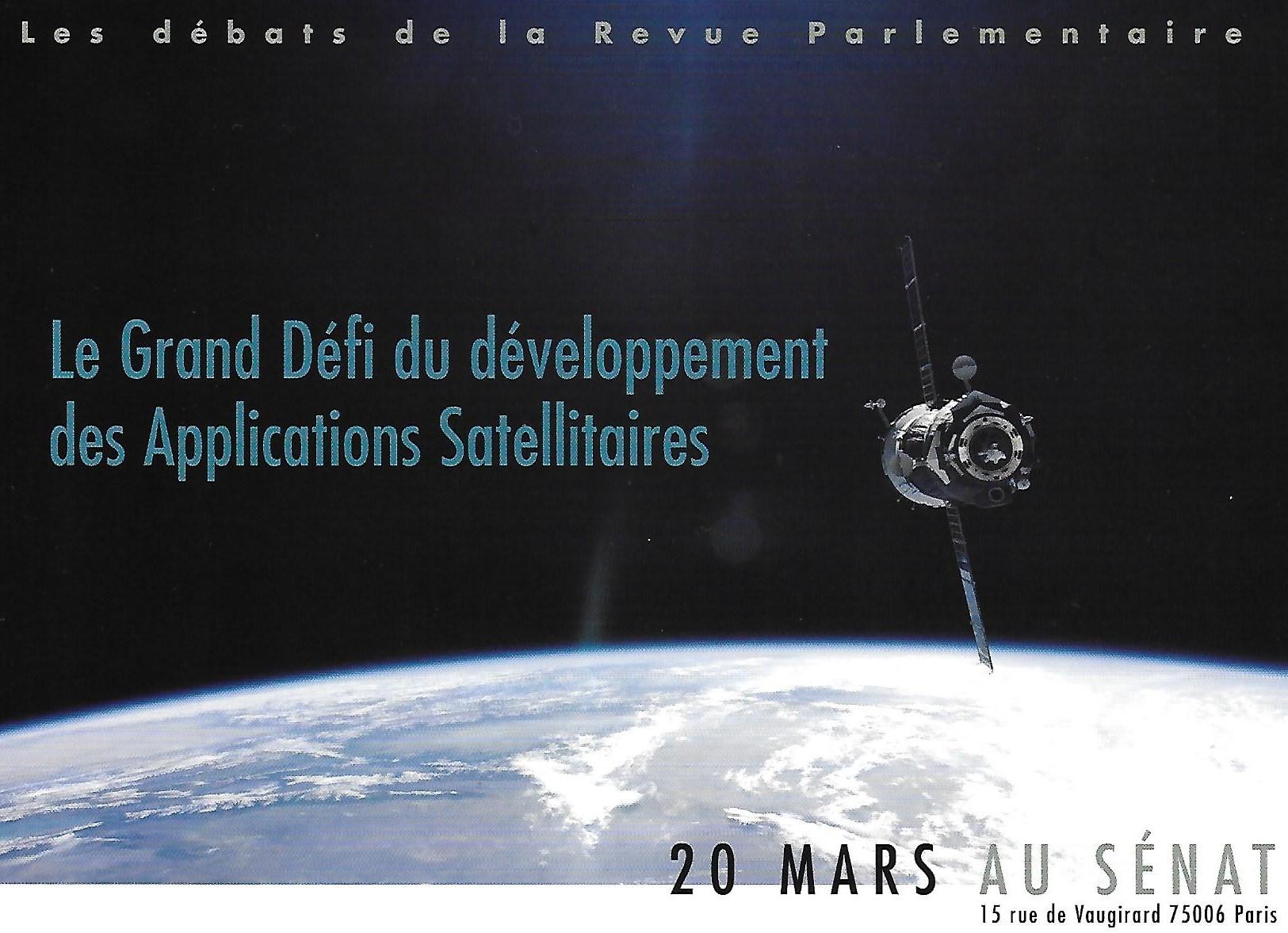 3i3s Partenaire  Les débats de la Revue Parlementaire au Sénat le 20 Mars 2007