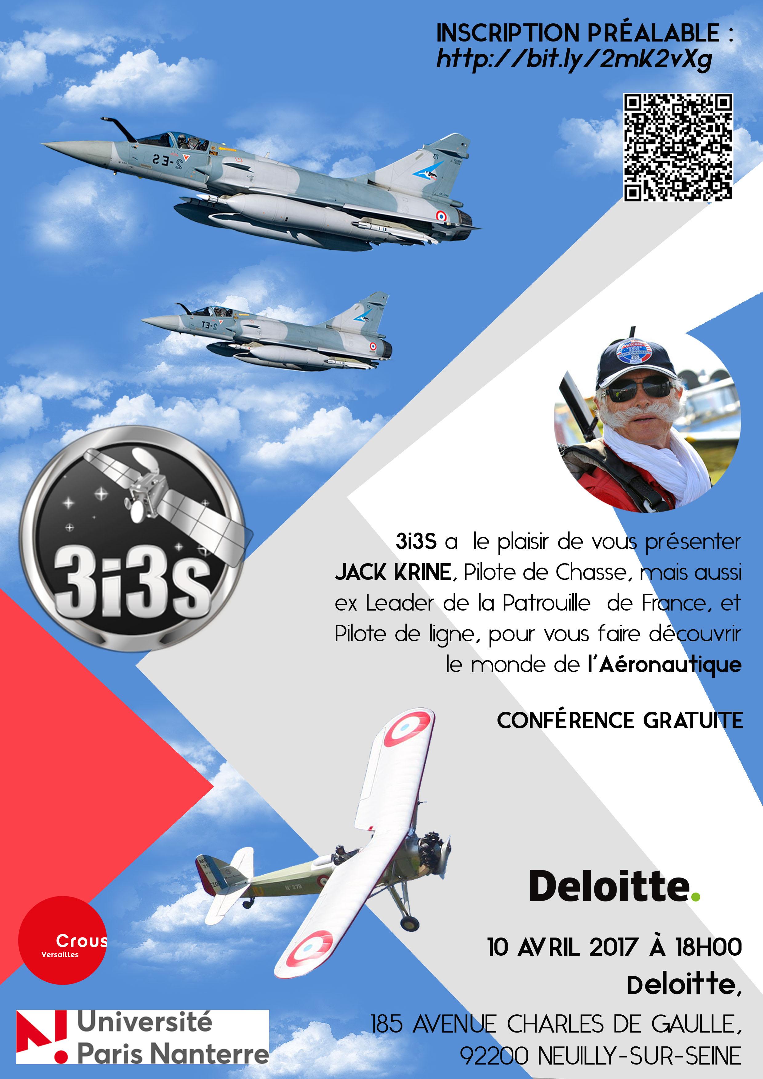 Conférence L'Université de NANTERRE du 10 Avril 2017