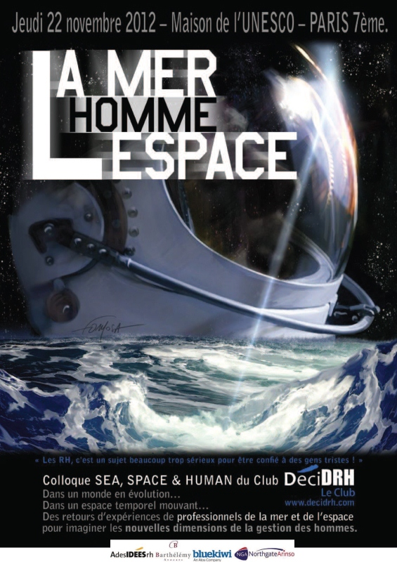 3i3s Partenaire La MER L'HOMME L'ESPACE Le Jeudi 22 Novembre 2012 Maison de L'UNESCO
