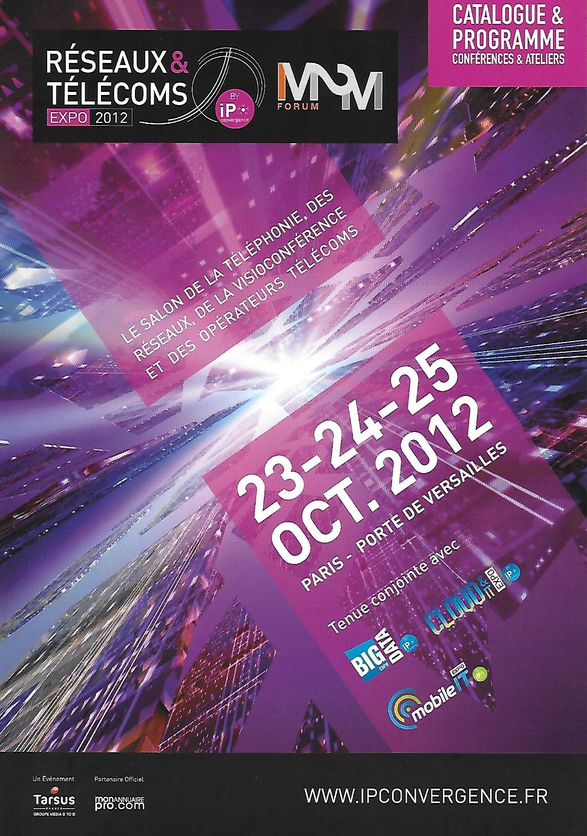 3i3s IP CONVERGENCE – RESEAUX & TELECOMS TELECOMS EXPO 2012