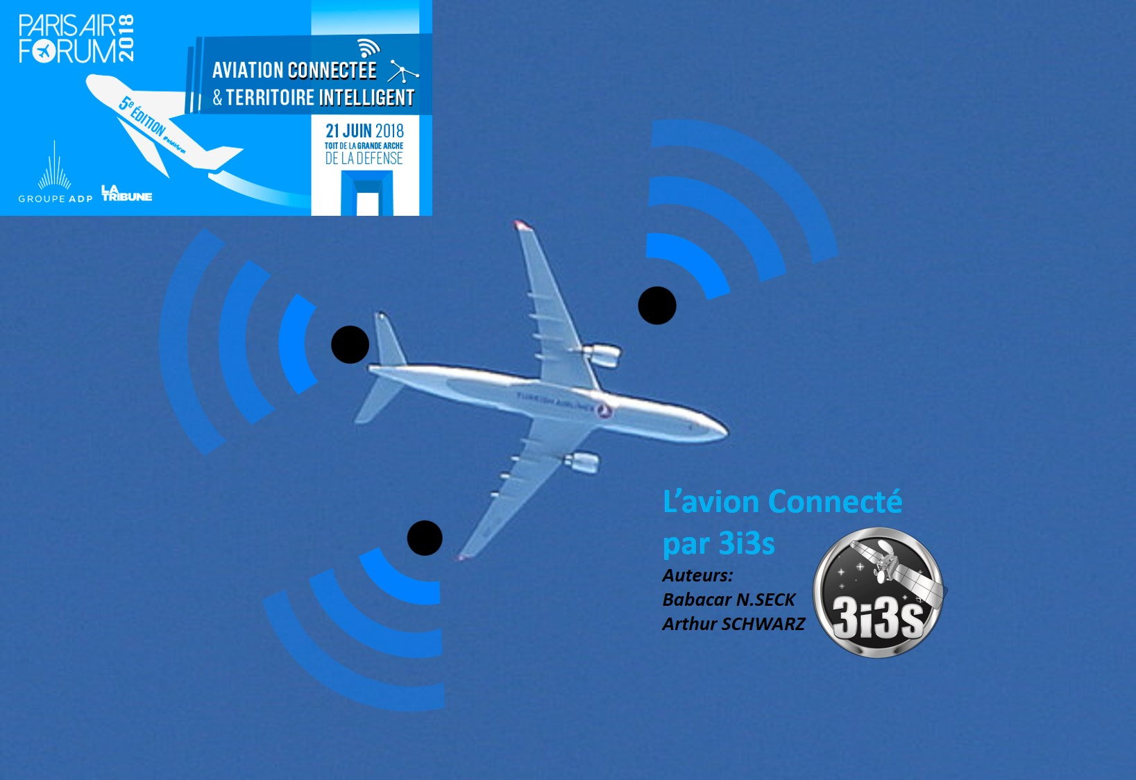 PARIS – AIR FORUM 2018 «Aviation connectée & Territoire intelligent»