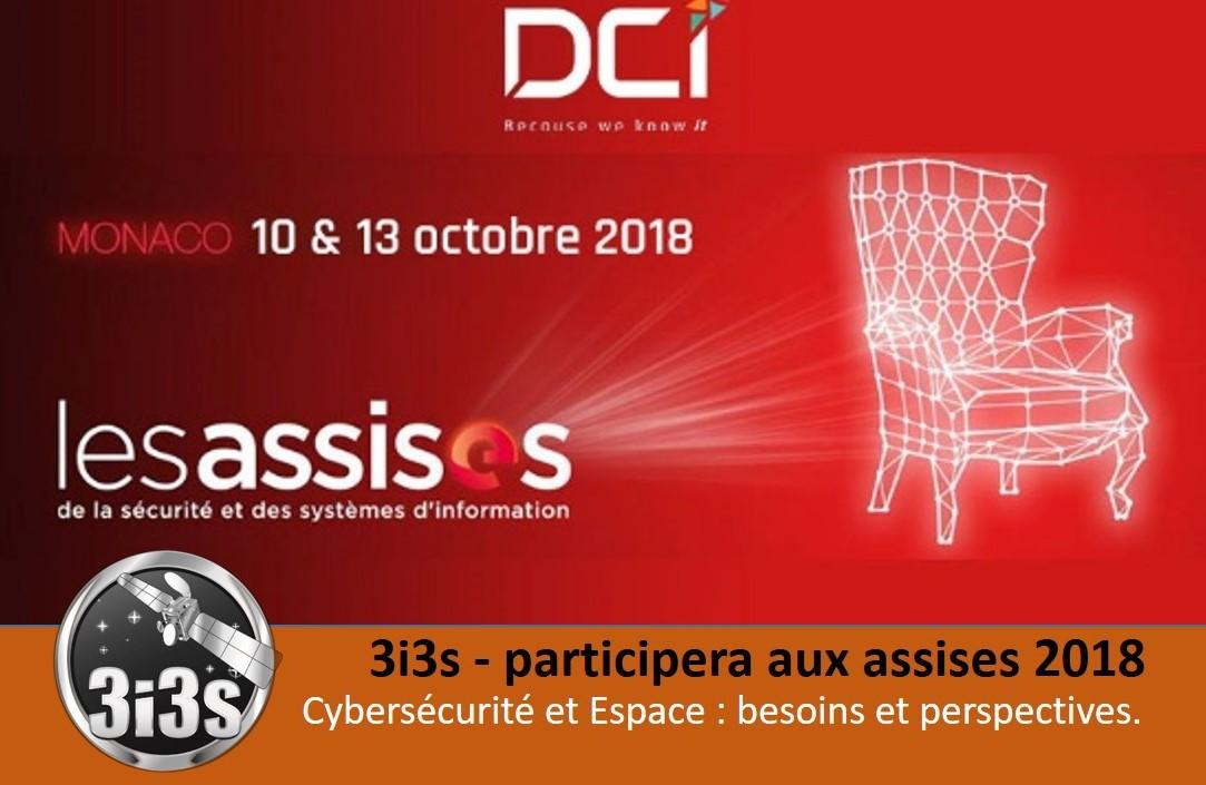3i3s – Cybersécurité et Espace : besoins et perspectives. Les Assises de Monaco 2018