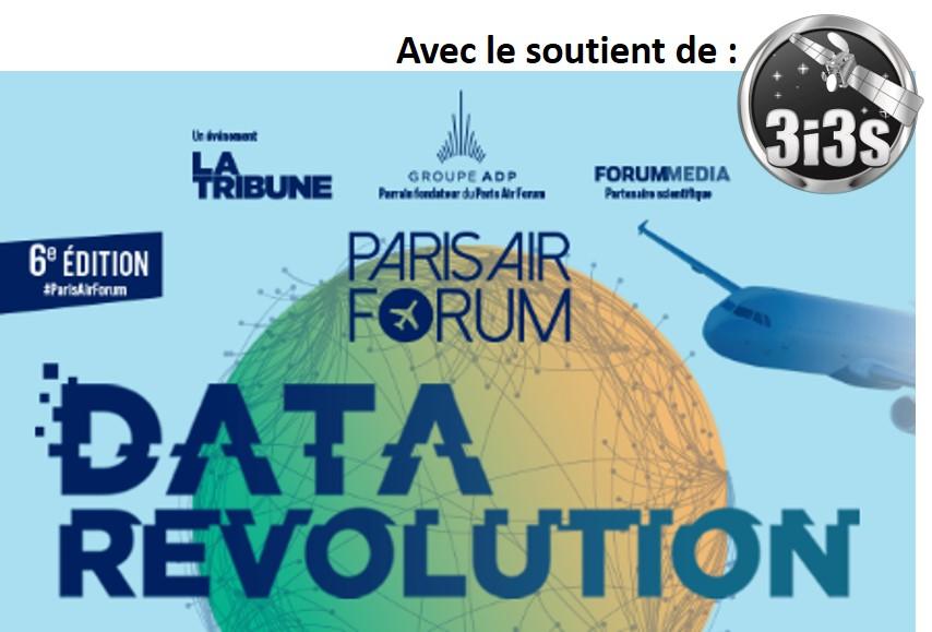 3i3s- PARIS – AIR FORUM  2019 «Data Revolution»