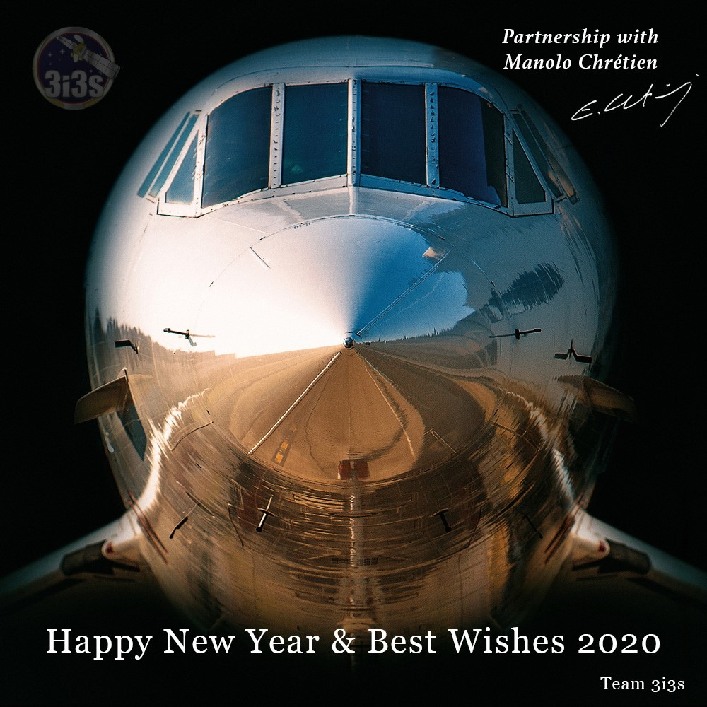 3i3s- MEILLEURS VOEUX 2020 /BEST WISHES 2020 BY Manolo CHRETIEN