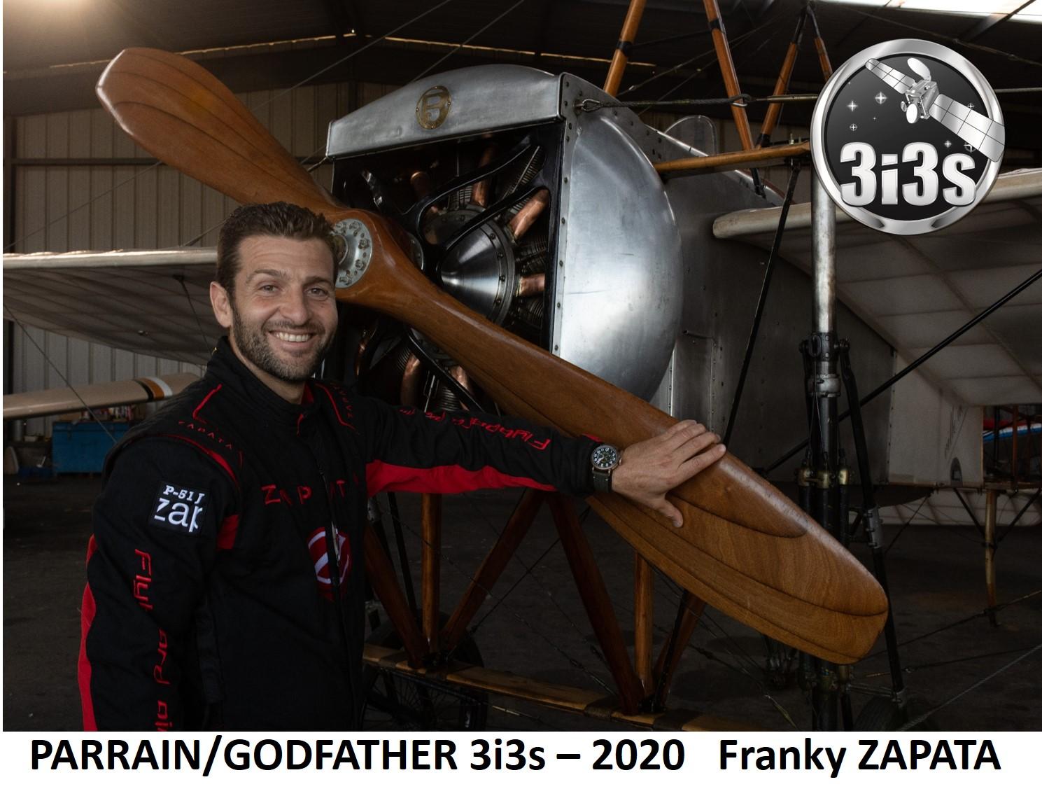 3i3s -PARRAIN / GODFATHER : Franky ZAPATA – 2020