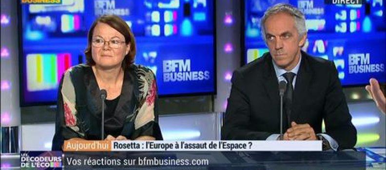 BFM Décodeurs de l'Eco : Mission ROSETTA: L'Europe à l' assaut de l'Espace