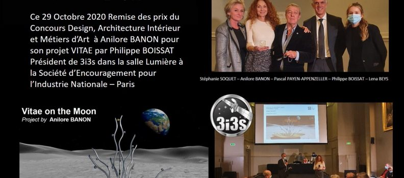 GESTE d'OR 2020 – VITAE by Anilore BANON – 3i3s
