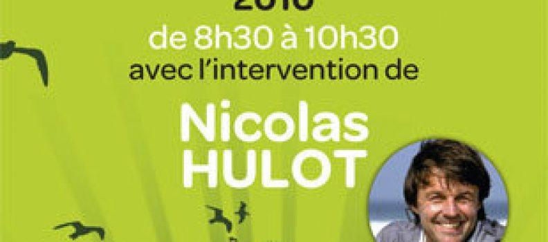 Petit déjeuner 3i3s avec Nicolas HULOT