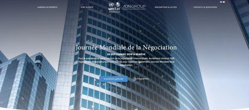 3i3s – Journée Mondiale de la négociation à L'ONU- Dr Isabelle TISSERAND