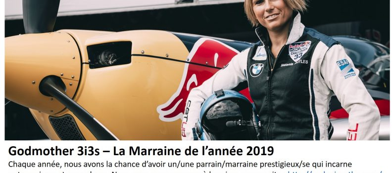 3i3s – MARRAINE / GODMOTHER: Mélanie ASTLES – 2019