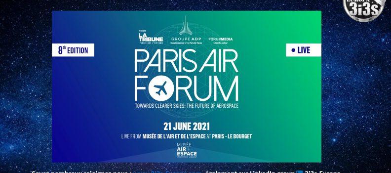 3i3s-Europa au PARIS AIRFORUM 8ème Edition 21 Juin 2021