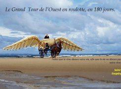 3i3s Partenaire Le Grand Tour de l' Ouest en roulotte en 180 Jours