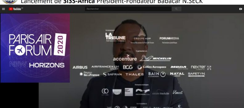 3i3s – PARIS AIR FORUM 7ème Edition Babacar N.SECK 3i3s Africa