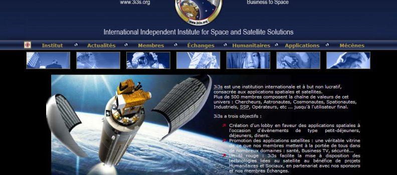Site web : Lancement de 3i3s  – 2005